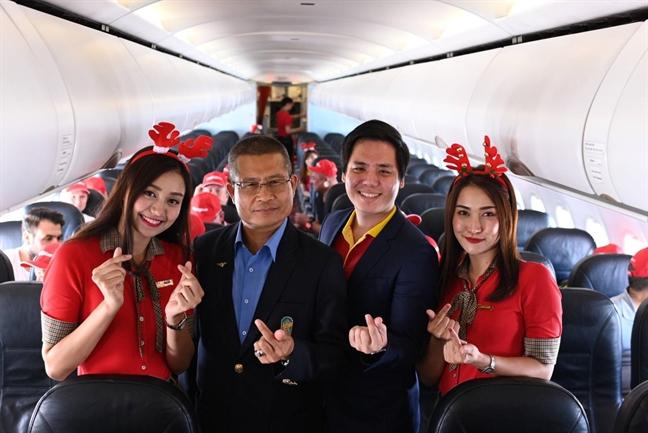 Vietjet khai truong duong bay TP.HCM - Pattaya vi vu Giang sinh va nam moi