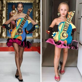Cô bé 6 tuổi 'cosplay' phong cách thảm đỏ của các mỹ nhân nổi tiếng