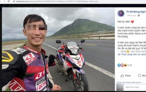 'Phượt thủ' từ TPHCM ra Hà Nội chưa đầy 20 tiếng thừa nhận chạy quá tốc độ