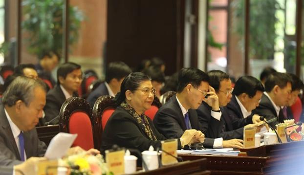 Quy hoach Bo Chinh tri, Ban Bi thu tu nam 2020