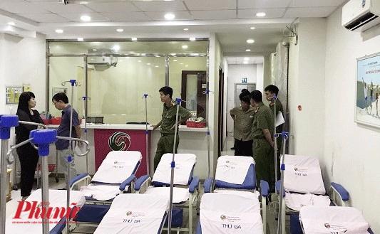 San phu khong du tien pha thai bi phong kham co bac si Trung Quoc giam giu