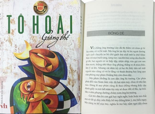 Khong chi mot minh nha van Do Hoang Dieu co tac pham 'Bong de'