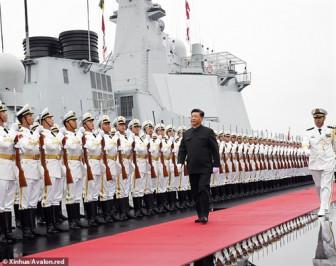 Trung Quốc, Nga, Iran tập trận chung trên biển
