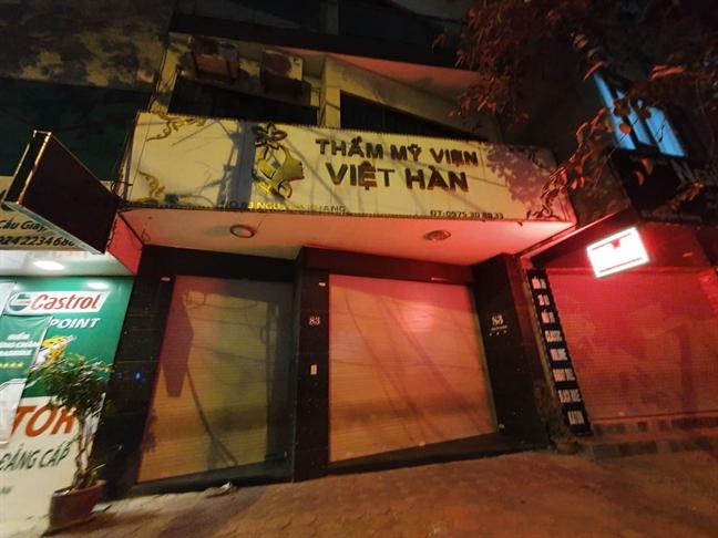 Nan nhan tu vong do hut mo bung o Tham my vien Viet Han la cong an Vinh Phuc