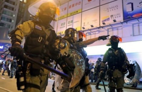 Cảnh sát Hồng Kông nhận hơn 17 triệu USD trợ cấp từ các hoạt động ứng phó biểu tình