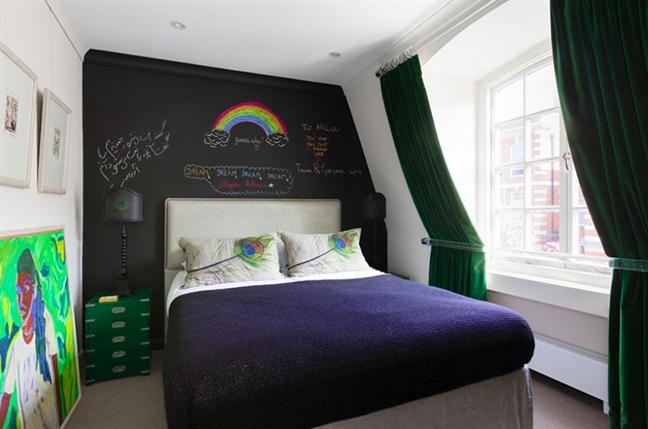 Tham khảo cách trang trí phòng ngủ tù hình tuọng chim cong