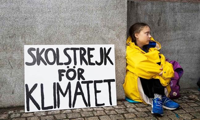 Tuoi tre toan the gioi dung len 'vi khi hau': Greta Thunberg, nha hoat dong moi truong tuoi 16