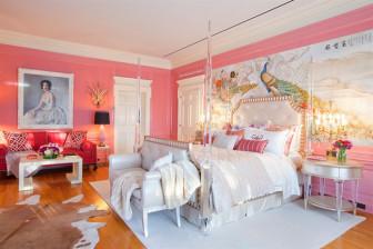 Tham khảo cách trang trí phòng ngủ từ hình tượng chim công
