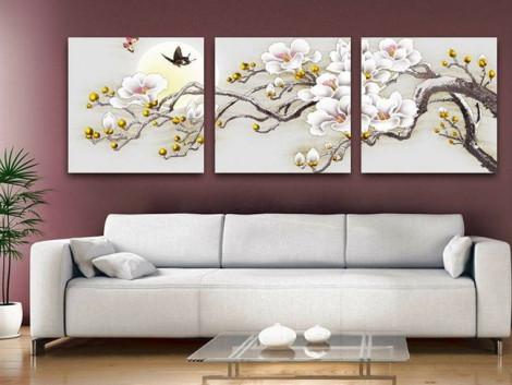 Cách chọn tranh treo tường trang trí nhà dịp Tết