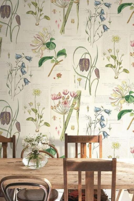 20 ý tưởng trang trí nhà với các bản in thực vật