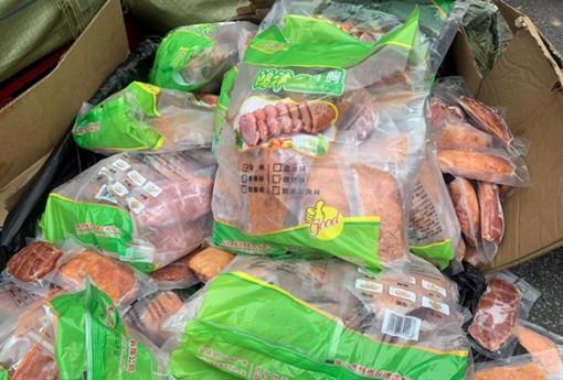 Hàng tấn thịt, phụ phẩm động vật Trung Quốc nhập lậu thu giữ tại siêu thị MM Mega Market