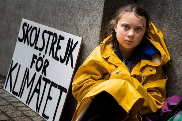 Greta Thunberg se chang 'ton thoi gian' thuyet phuc Tong thong Trump ve bien doi khi hau