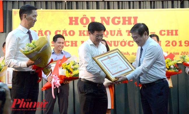 Nam 2019, lan dau tien TPHCM thu ngan sach vuot 400.000 ty dong