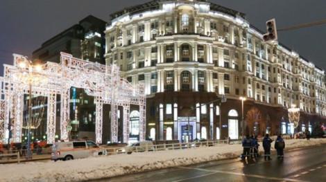 Không có tuyết, Moscow phải dùng 'tuyết nhân tạo' để đón Năm Mới