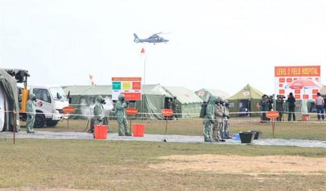 Campuchia khánh thành trung tâm đào tạo sĩ quan do Việt Nam tài trợ xây dựng