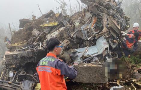 Tổng tham mưu trưởng Đài Loan bị rơi máy bay tử nạn