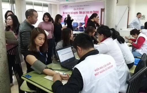 Diana Unicharm tiếp tục tổ chức ngày hội hiến máu nhân đạo đợt 2