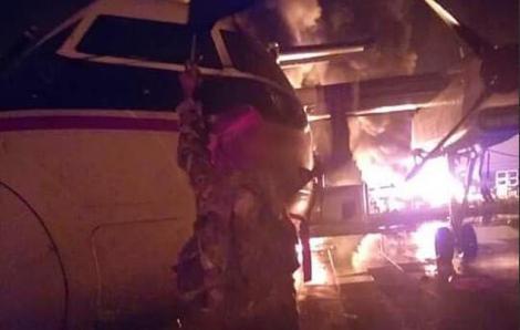 Sân bay do Mỹ sử dụng tại Kenya bị tấn công