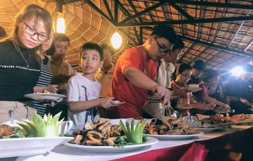 Bữa tiệc ở Sài Gòn sử dụng toàn cá tra