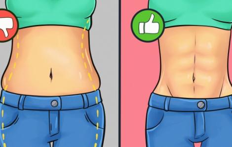 5  phút mỗi ngày giúp mỡ bụng của bạn tan chảy như tuyết sau tết