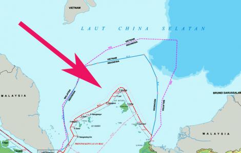 Indonesia cử thêm 4 tàu chiến và hơn 100 ngư dân ra vùng biển nơi Trung Quốc đang xâm phạm