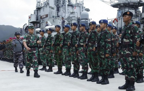 Tàu cá Trung Quốc không chịu rời khỏi vùng đặc quyền kinh tế của Indonesia