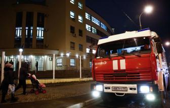 8 người di cư thiệt mạng trong vụ cháy tại Moscow, nghi là người Việt Nam