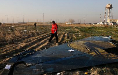 Máy bay của Ukraine rơi tại Tehran vừa kiểm tra kỹ thuật 2 ngày trước