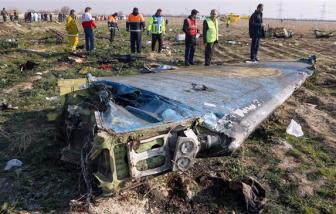 Iran bác tin đồn máy bay Ukraine bị tên lửa bắn hạ