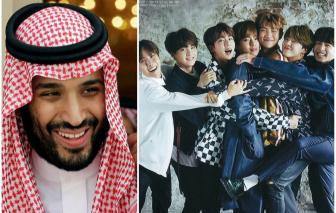 Nhóm BTS được Thái tử Ả Rập Saudi yêu cầu trình diễn nhiều hơn ở Trung Đông