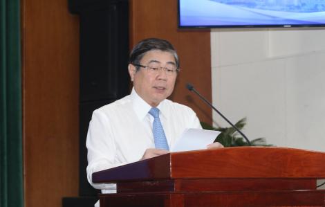 Chủ tịch Nguyễn Thành Phong: Sẽ lập tức yêu cầu UBND Q.8 xử lý chợ tự phát ngập đường Quản Trọng Linh