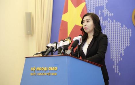 Việt Nam luôn giám sát chặt chẽ mọi hoạt động trên vùng biển theo Công ước Luật biển 1982