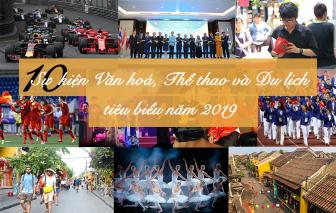 10 sự kiện Văn hoá, Thể thao và Du lịch tiêu biểu năm 2019