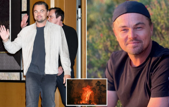 Leonardo DiCaprio góp 70 tỷ đồng hỗ trợ thảm hoạ cháy rừng ở Úc