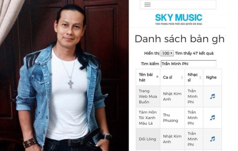 Sky Music nhận sai, chi trả bước đầu 700 triệu đồng tiền vi phạm tác quyền
