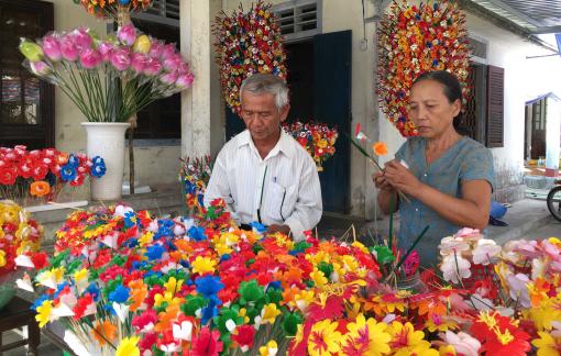 Sắc xuân ở làng hoa giấy hơn 300 năm tuổi