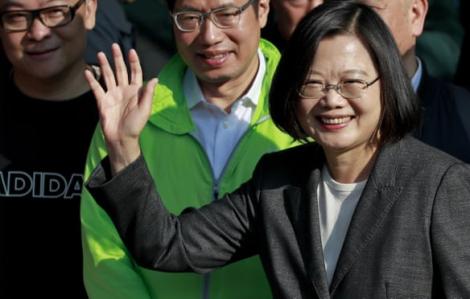 Bà Thái Anh Văn tái đắc cử Tổng thống Đài Loan