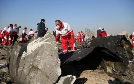 Iran thừa nhận bắn nhầm máy bay của Ukraine khiến 176 người thiệt mạng