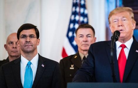 Ông Esper nói không có bằng chứng, nhưng vẫn tin Iran sẽ truy sát đại sứ quán Mỹ