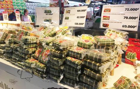 Bánh chưng tăng giá theo thịt heo, lá gói, nhân công