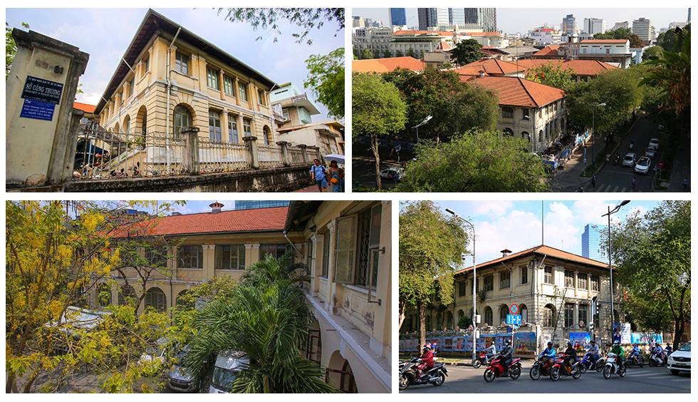 Dinh Thượng Thư, một công trình cổ đã được giữ lại  giữa trung tâm thành phố Hồ Chí Minh - ẢNH: INTERNET