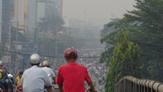 Bụi mù liên tục bao phủ Sài Gòn, quan trắc vẫn túc tắc