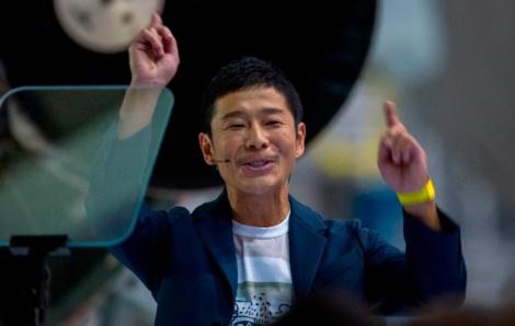 Hơn 20.000 đơn ứng cử làm 'Hằng Nga' cùng lên cung trăng với tỷ phú Nhật Bản