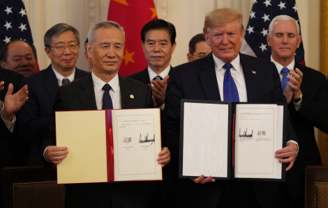 Mỹ ký thỏa thuận với Trung Quốc, tháo ngòi nổ chiến tranh thương mại