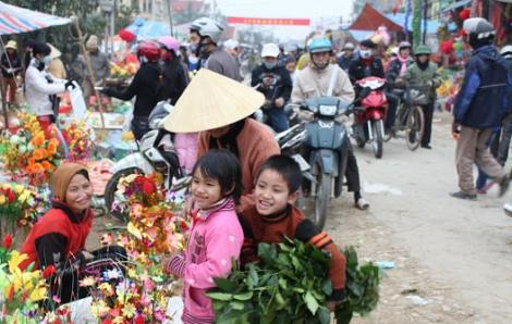 Chợ quê xưa