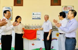 Niềm vui 'Nước sạch học đường' trước thềm năm mới tại huyện Bình Đại, tỉnh Bến Tre