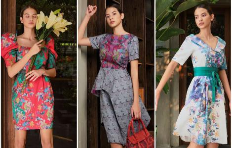 Đón tết cùng những thiết kế váy hoa lấy cảm hứng từ thiên nhiên