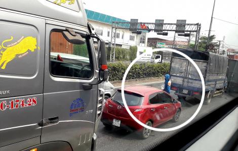 Những người 'thích' cảnh kẹt xe ở Sài Gòn
