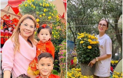 Sao Việt rộn ràng trang hoàng nhà cửa giáp tết