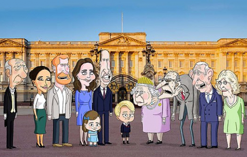 HBO làm phim hoạt hình về 'biến cố' Hoàng gia Anh